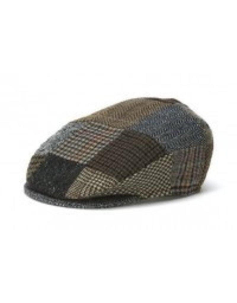Hat: Vintage Wool Cap, Patchwork