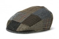 Hat: Vintage Wool Cap, Patchwork