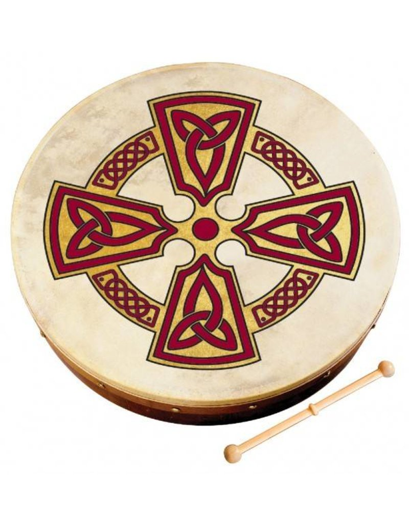 "Bodhran: 8"" Kilkenny Cross"