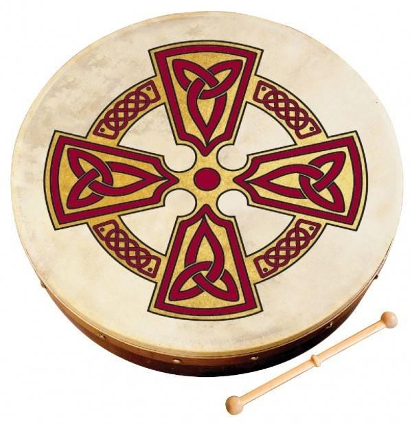 "Walton's Music Bodhran: 8"" Kilkenny Cross"
