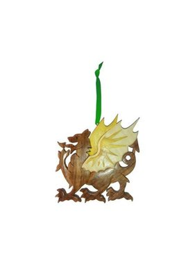 Ornament: Wood Dragon