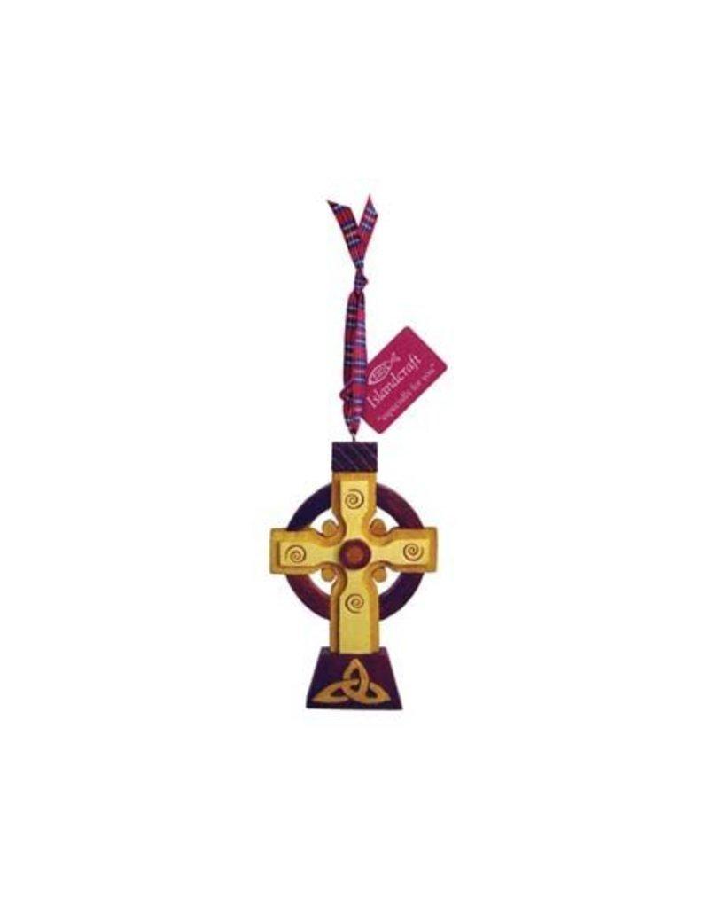 Ornament: Wood High Cross