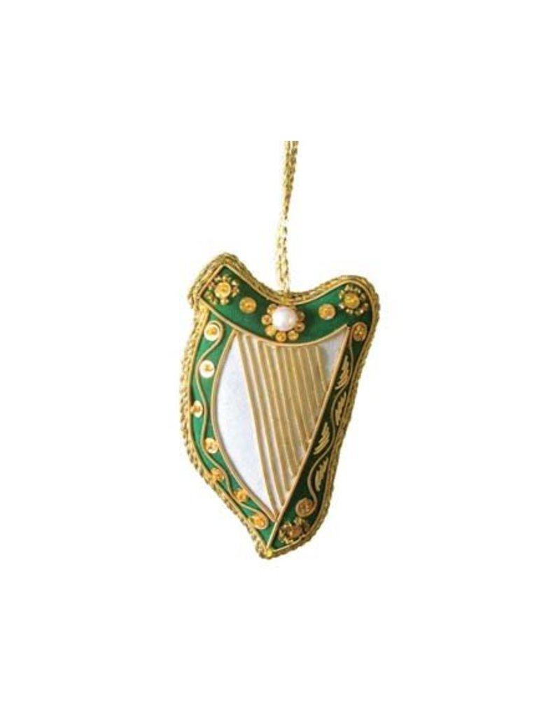 Ornament: Fabric Harp