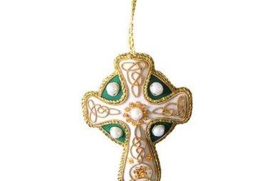 Ornament: Fabric High Cross