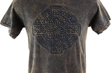 T Shirt: Circle of Life Embossed