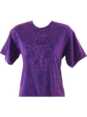 T Shirt: Tricycle Embossed