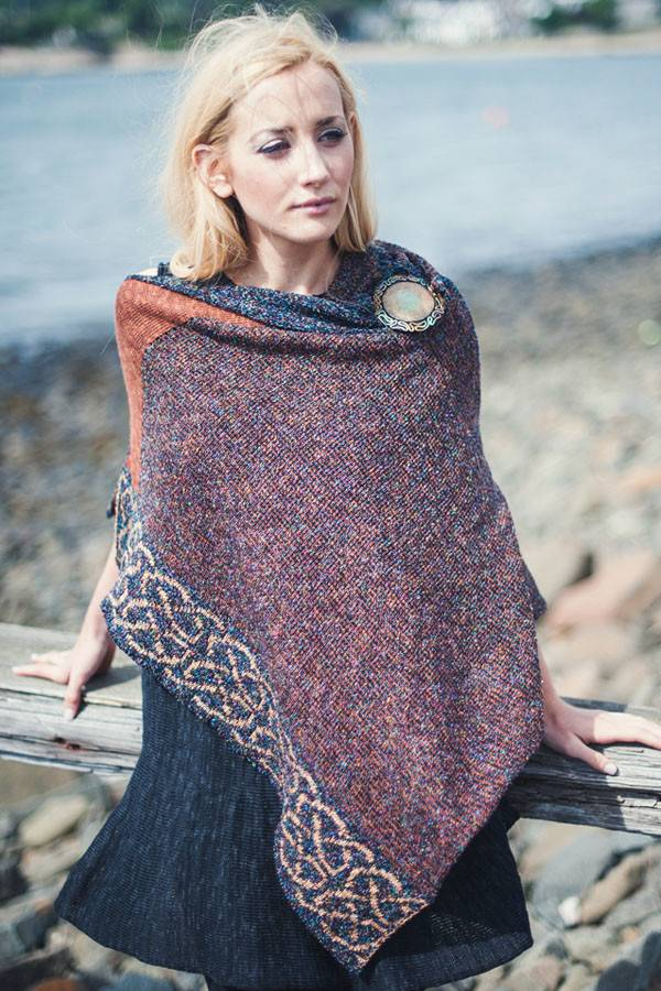 Cape: Silk and Linen Wallace Bronze