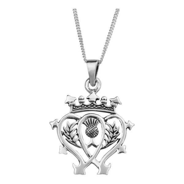 Pendant: Silver Luckenbooth