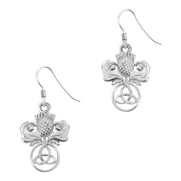 Earrings: Silver Celtic