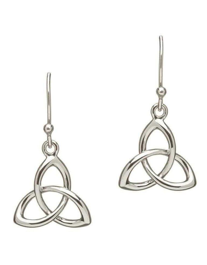 Earrings: Sil Trinity