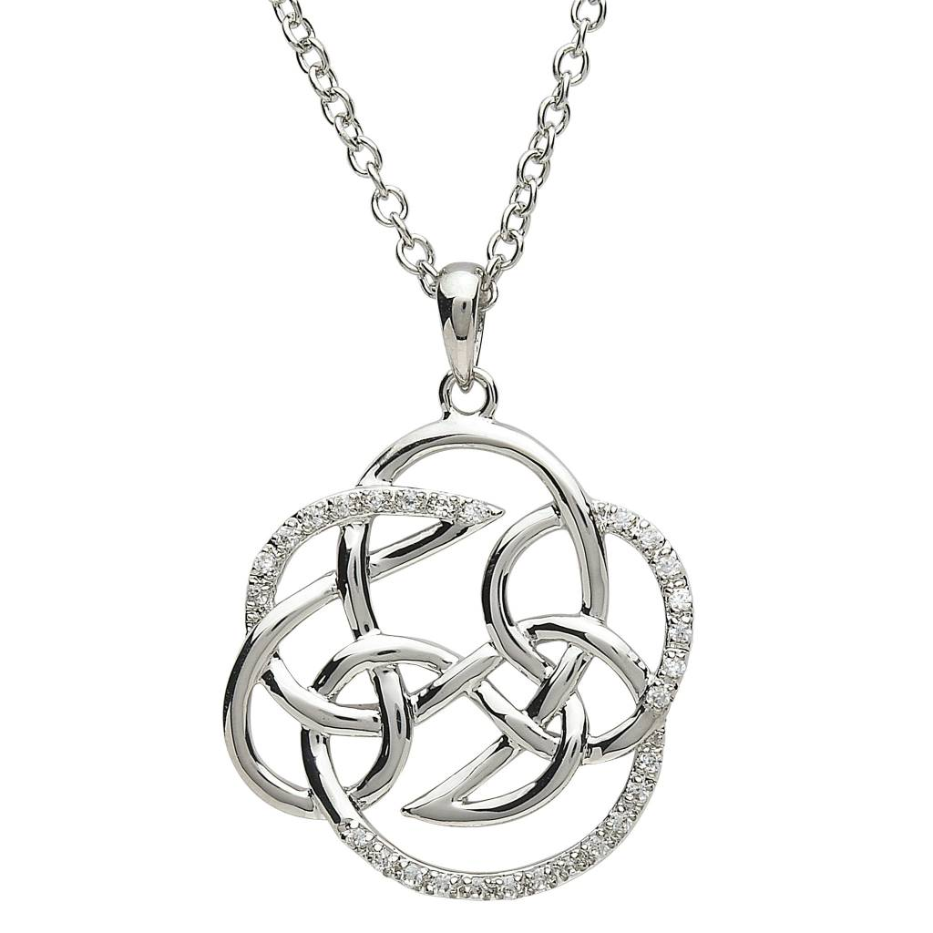 Pendant: Platinum Celtic Knot