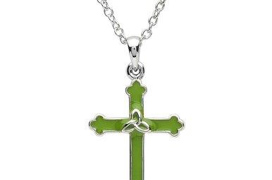 Pendant: Platinum Cross