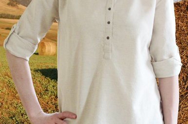 Shirt: Ladies Cotton and Linen