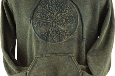 Sweatshirt: Tree of Life Embossed