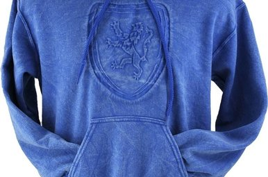 Sweatshirt: Scotland Lion Embossed