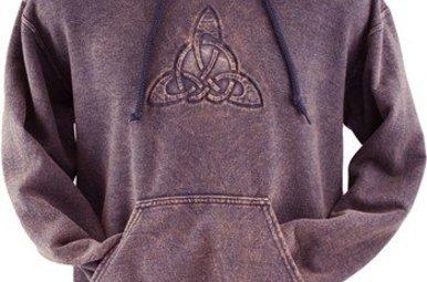 Sweatshirt: Trinity Embossed M