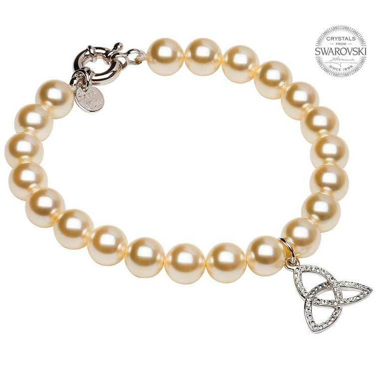 Bracelet: SS Trinity White Swarovski