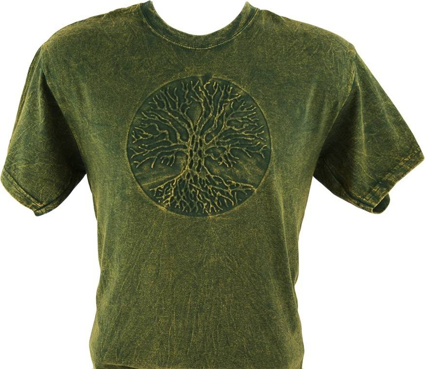 T Shirt: Tree of Life Embossed