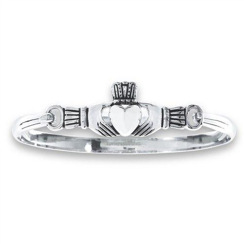 Bracelet: Stainless Steel  Bangle Claddagh WE01025
