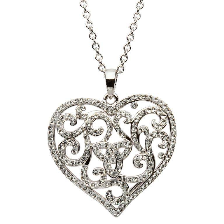 Pendant: Swarovski Valentines Heart