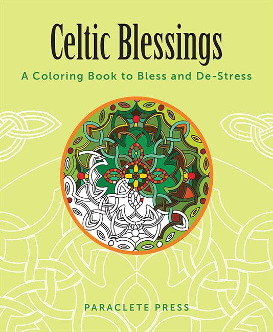 Book Book: Celtic Blessings, Coloring