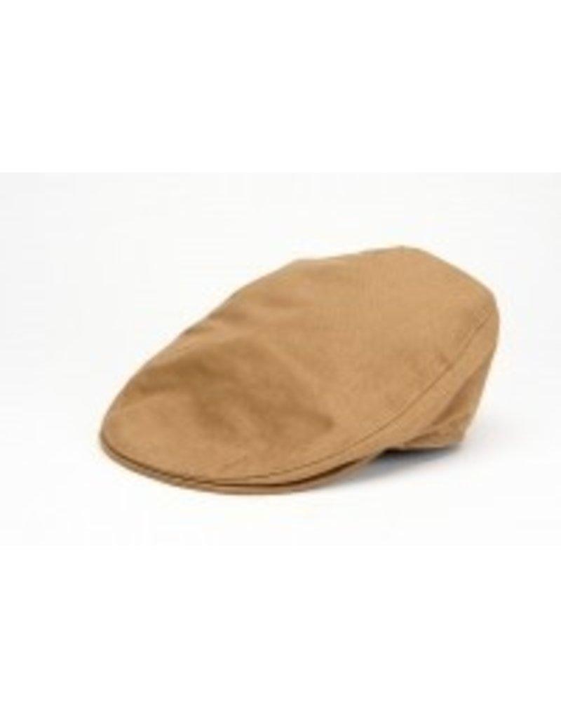 Hat: Linen Tailor Cap Carmel