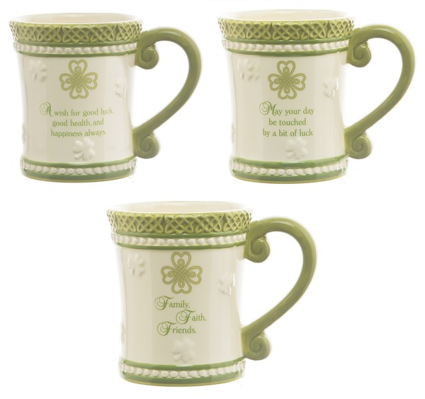 Mug: Blessings Shamrock