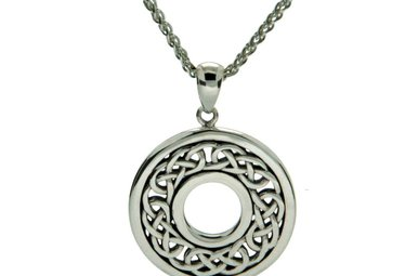 Pendant: Sterling Silver Love Knot