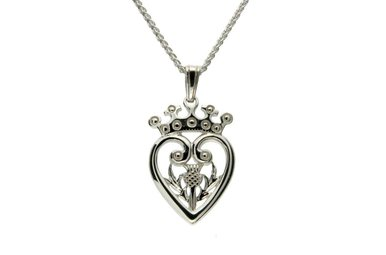 Pendant: Sterling Silver Luckinbooth