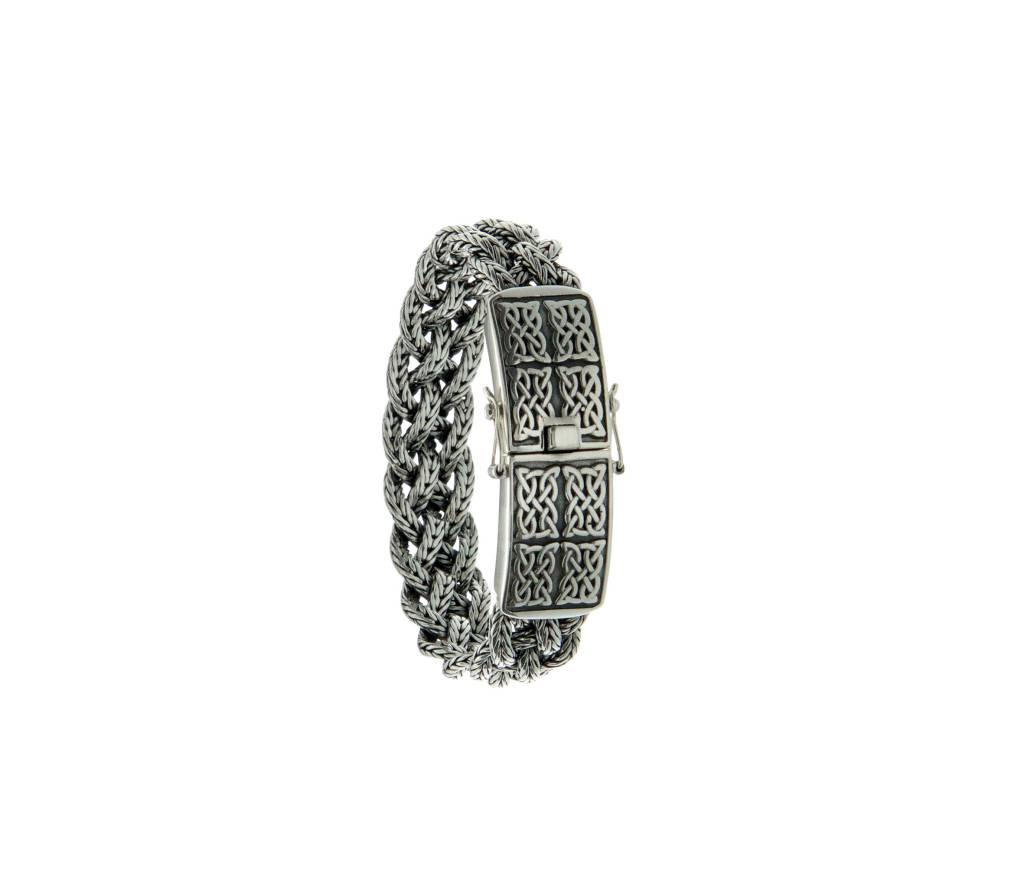Bracelet: Norse Forge Mulitbraid, Sterling