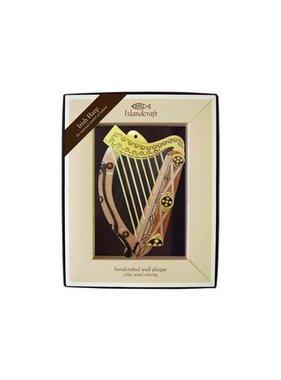 Plaque: The Irish Harp