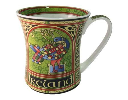Clara Mug: Celtic Peacock