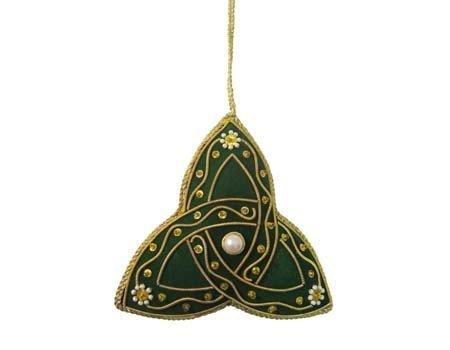 Ornament: Fabric Trinity