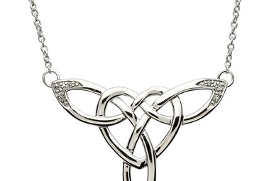 Necklace: SS Celtic Heart