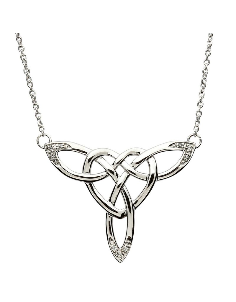 Necklace: SS Celtic Heart