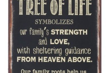 Plaque: Tree of Life