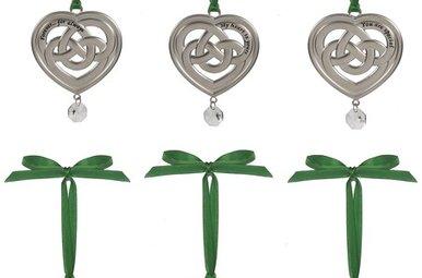 Ornament: Celtic Heart