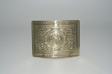 Buckle: Highland Swirl Brass