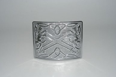 Buckle: Highland Saltire
