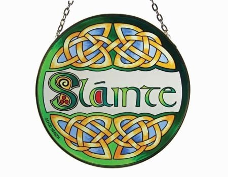 Clara Stained Glass: Slainte