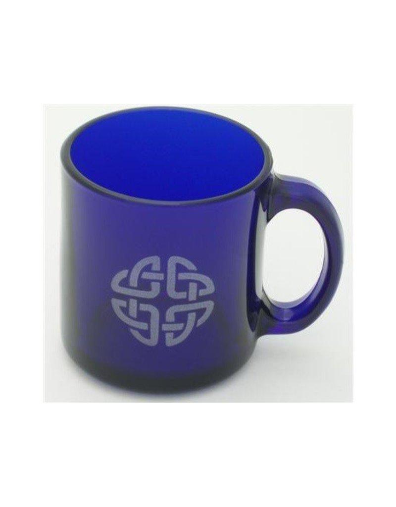Mug: Cobalt Coffee/Celtic Etch