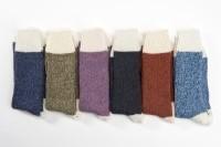 Connemara Socks Colors White Heel (M)