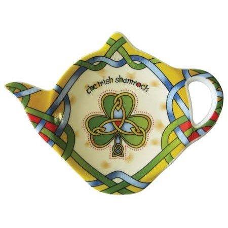 Clara Tea Bag Holder: Shamrock