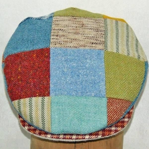 Hat: Vintage Wool Cap, Bright Patch XL
