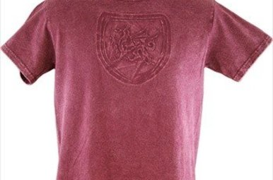 T Shirt: Welsh Griffin Embossed