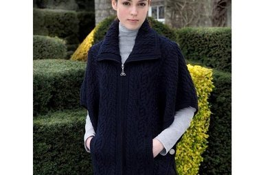 Sweater: Funnel Neck Jacket