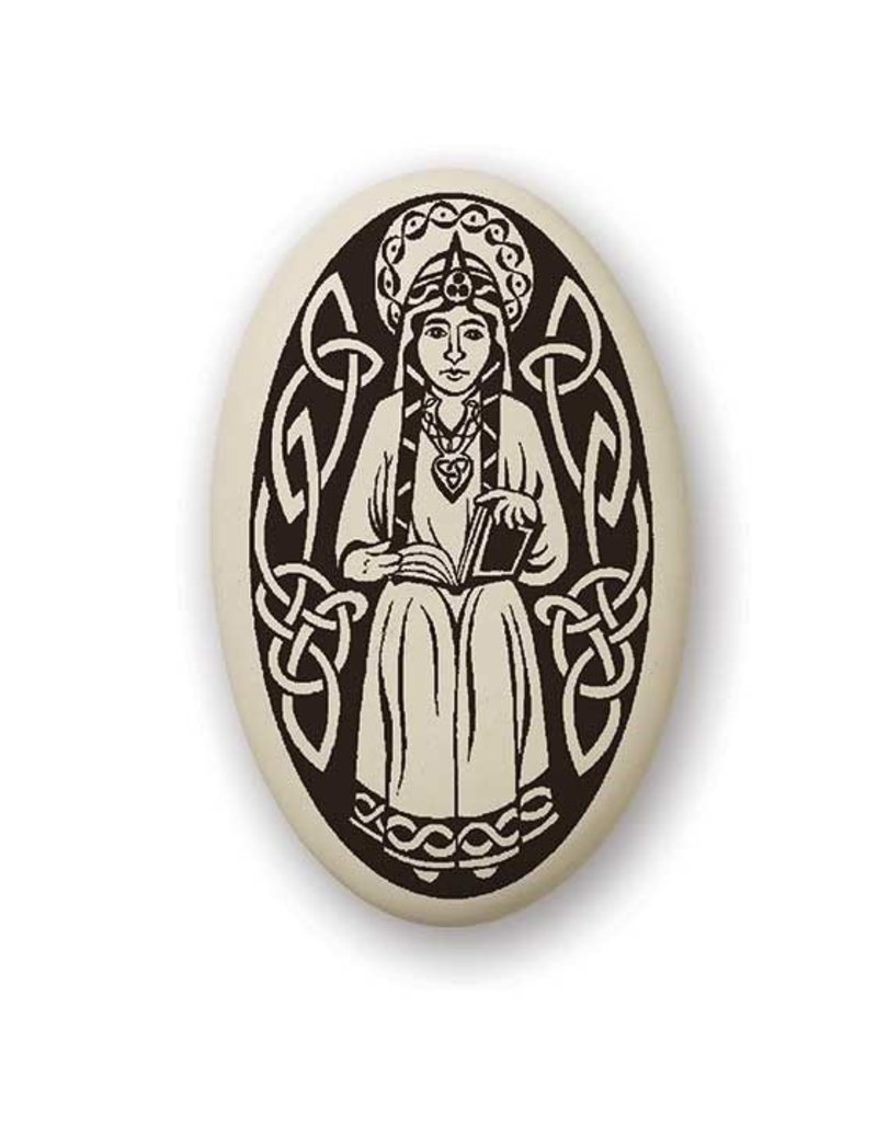 Necklace: Ceramic St. Margaret of Scotland