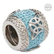 Bead: SS SW Trinities Blue Crystal