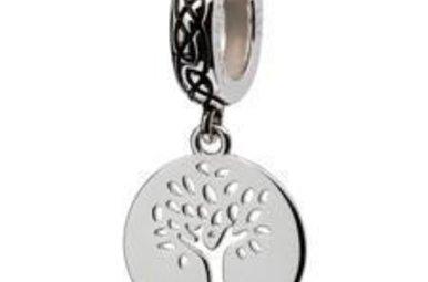 Bead: SS SW Tree of Life Dangle