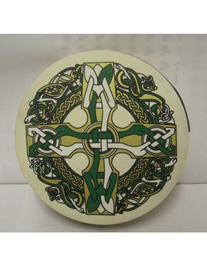 "Bodhran: 8"" Celtic Cross"